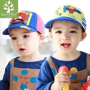 kk树儿童帽子春秋男女童帽子卡通儿童棒球帽遮阳帽
