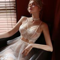 性感睡衣蕾丝透明情趣内衣骚短裙小胸激情套装床上挑逗调情超骚