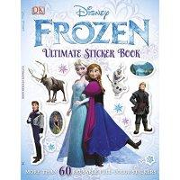 【现货】英文原版儿童书Ultimate Sticker Book: Frozen 终极贴纸书:冰雪奇缘