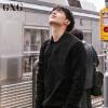 GXG卫衣男装 秋季男士时尚都市休闲黑色棉套头修身卫衣外套男潮