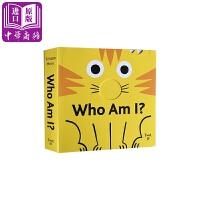 【中商原版】我是谁?英文原版 Who Am I? 纸板书 机关操作书 1-3岁