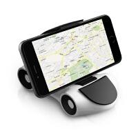 车载手机架座汽车用手机导航支撑架多功能仪表台粘贴式创意摆件