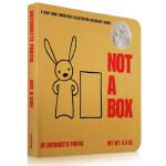 【发顺丰】进口英文原版正版 Not a Box 这不止是个盒子 苏斯奖吴敏兰推荐绘本123 第36本撕不烂纸板书入门启