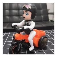 抖音同款三轮车男童新款电动音乐灯光卡通小男孩万向翻斗车3-6男生女宝宝儿童玩具