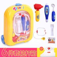 儿童医生玩具套装宝宝打针听诊器医药箱女童3-6岁女孩过家家仿真