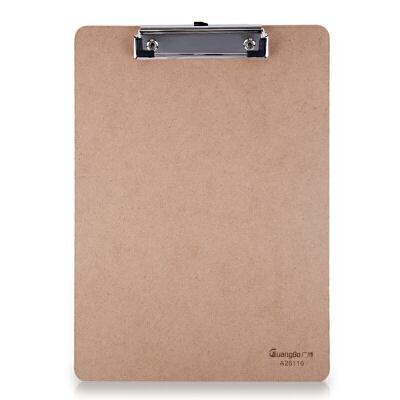 广博(GuangBo)木质平夹型A4 A26116书写板夹/文件夹板/办公用品当当自营