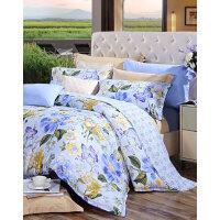 【年货直降】富安娜家纺 美丽印花床品四件套 纯棉斜纹床单被套