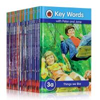 【全店300减100】原版童书Key Words 33册合售幼少儿英语儿童绘本complete sight words