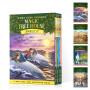 英文原版 神奇树屋9-12盒装 Magic Tree House Volumes Boxed Set 青少年中小学章节桥梁书 冒险故事