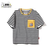 【2件3折到手价:44.1元】小虎宝儿儿童短袖T恤2020夏季新款中大童洋气上衣男童韩版童装潮