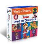 英文原版 迪士尼【12册】 经典角色绘本 Disney World of Reading Disney Junior