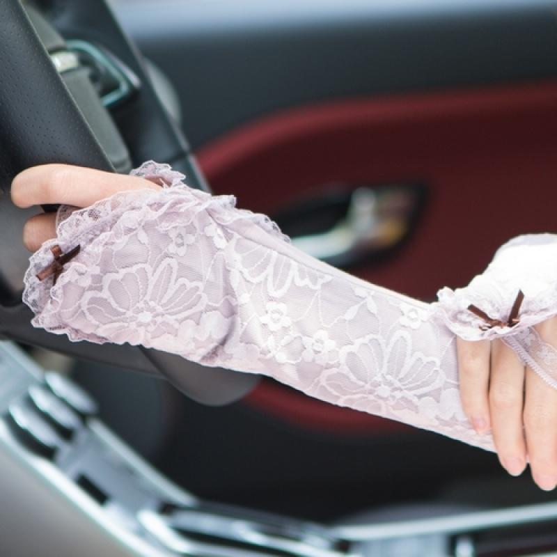夏天开车女士长款蕾丝防晒手套 夏季防紫外线袖套 透气  均码 发货周期:一般在付款后2-90天左右发货,具体发货时间请以与客服协商的时间为准