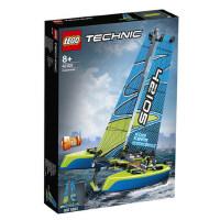 LEGO乐高机械组42105 漂浮双体船拼搭益智积木儿童玩具 1月新品