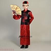 冬季过年喜庆宝宝唐装女童中国风儿童新年衣服男女中式花童礼服秀禾服秋冬新款
