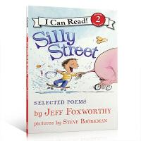 英文原版ICR2 Silly Street: Selected Poems 我能阅读二阶段读物 汪培�E推荐书单 精选诗