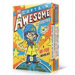 英文原版 The Captain Awesome Collection 异能船长4册盒装 初级桥梁章节书 适合5-9岁