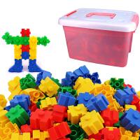 20180323005918280大颗粒积木拼插拼装益智早教儿童幼儿园桌面玩具4-5-6周岁宝宝