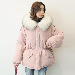 【一件三折 到手价:479.7】yaloo/雅鹿冬装时尚韩版羽绒服女士短款保暖派克外套