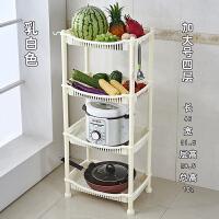 收纳架转角储物架塑料落地层架厨房置物架水果蔬菜架厨房用具用品