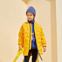 【2件4折:210】巴拉巴拉旗下巴蒂巴蒂男童时尚潮流百搭休闲羽绒服