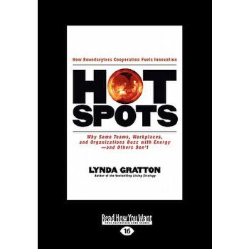 【预订】Hot Spots: Why Some Teams, Workplaces, and Organization Buzz with Energy-And Others Dont's (Large Print 16pt) 预订商品,需要1-3个月发货,非质量问题不接受退换货。