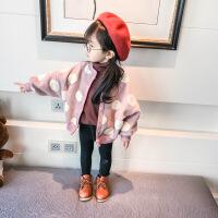 女宝宝秋冬装宝宝加绒加厚外套2018女童加绒外套宝宝外套 1-3-6岁