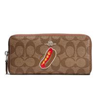 【当当自营】蔻驰(COACH)新款女士经典款印花手拿包钱包卡包  F57823