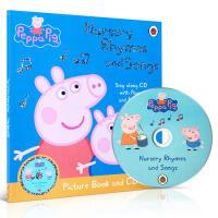 英文原版粉红猪小妹 英文儿歌Peppa Pig: Nursery Rhymes and Songs+CD