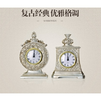 创意家居摆件装饰品树脂工艺礼物复古时钟表婚庆礼物结婚