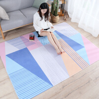 简约北欧小地毯卧室客厅地垫家用茶几脚垫房间床边毯长方形