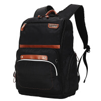 卡拉羊简约多功能休闲大容量男女旅行笔记本电脑背包双肩包CX5783