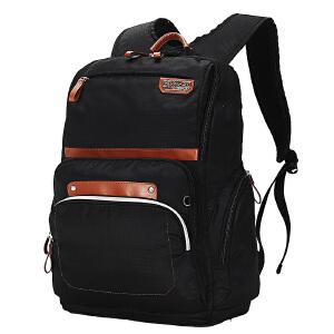 [3件3折 3折价:118.5]卡拉羊简约多功能休闲大容量男女旅行笔记本电脑背包双肩包CX5783