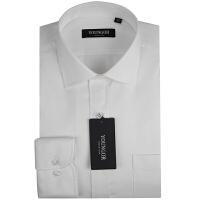 雅戈尔YOUNGOR免烫白衬衫职业装白色长袖衬衫XP70043