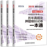 环球2019中级会计资格证考试用书 (中级会计实务+经济法+财务管理) 教材全套3本2019年中级