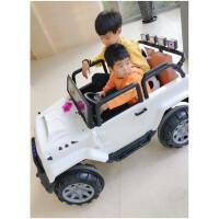 儿童电动4轮车遥控汽车四驱超大号四轮玩具车可坐人双人大人小孩六一儿童节礼物