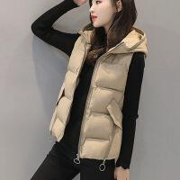 棉马甲女秋冬短款羽绒女士外套韩版修身显瘦马夹女潮