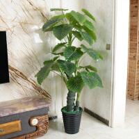 仿真植物树绿植大型盆栽客厅办公室内假花落地装饰花