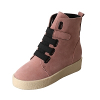 秋冬季马丁靴女新款高帮短靴英伦风学生韩版百搭网红雪地靴子