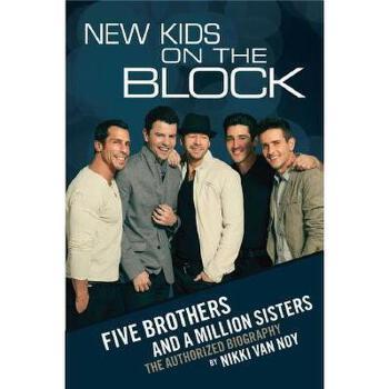 【预订】New Kids on the Block: Five Brothers and a Million 美国库房发货,通常付款后3-5周到货!
