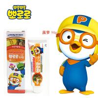 宝露露(Pororo)啵乐乐小企鹅儿童牙膏系列 菠萝味