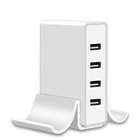 多口USB充电器头4口/2口多孔手机平板通用快充充电器插头