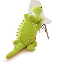 毛绒玩具鳄鱼抱枕公仔大号河马布娃娃玩偶睡觉靠枕生日送女生礼物