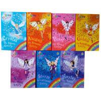 英文原版Rainbow Magic Fairies 8-14 7本彩虹魔法英文原版章节书