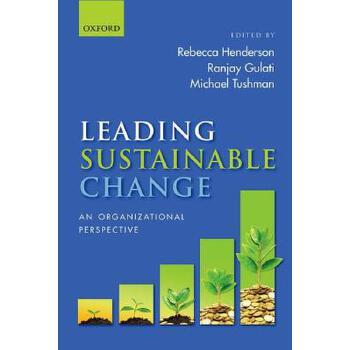 【预订】Leading Sustainable Change: An Organizational Perspective 预订商品,需要1-3个月发货,非质量问题不接受退换货。