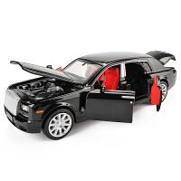 儿童玩具车回力汽车模型仿真轿车合金车模 声光版