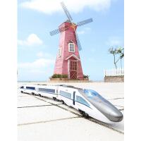 儿童电动遥控小火车仿真充电高铁动车组模型男孩玩具