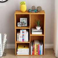 简易书架落地简约收纳书柜经济型桌上小置物架书桌学生家用省空间