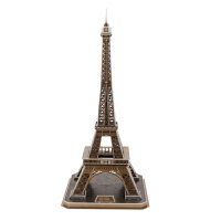 3d立体拼图 埃菲尔铁塔 儿童拼装模型玩具高难度