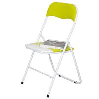 [当当自营]慧乐家 电脑椅 丝印骆驼椅 简约时尚金属折叠椅 绿色 22037