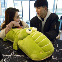 鳄鱼毛绒玩具小玩偶娃娃女生儿童可爱睡觉抱枕动物软趴趴长条公仔